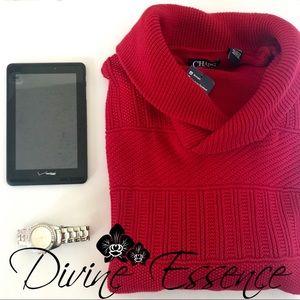 Men's Dapper In Red Sweater